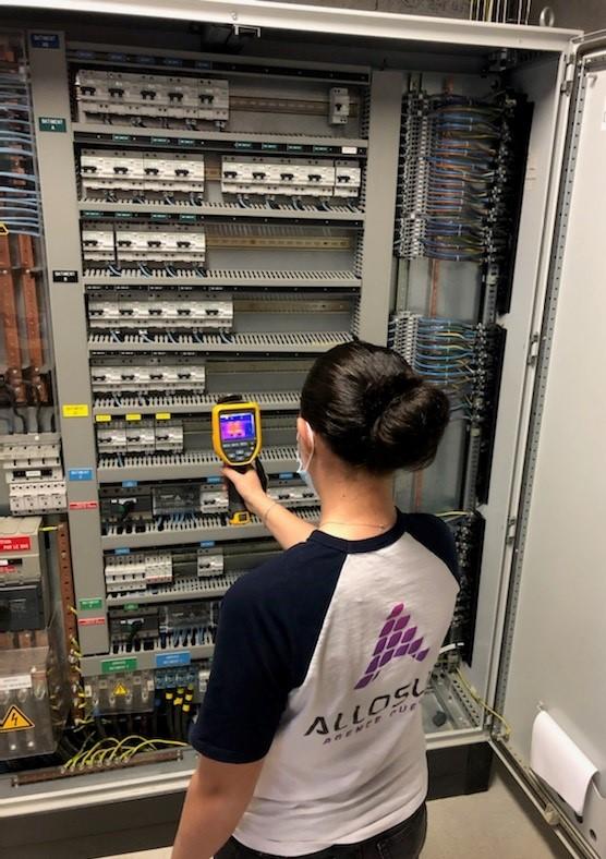 Groupe-Allosun Tinténiac Ille-et-Vilaine Bretagne 35 - Realisation Maintenance controle thermographique
