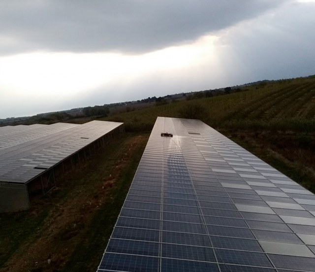 Allosun-TOITURE AGRICOLE 600 m²