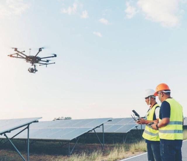 Groupe-Allosun Tinténiac Ille-et-Vilaine Bretagne 35 - Contrôle Inspection Géothermique par Drone